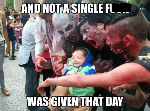 Babies zombie funny g rated parenting - 7654815488