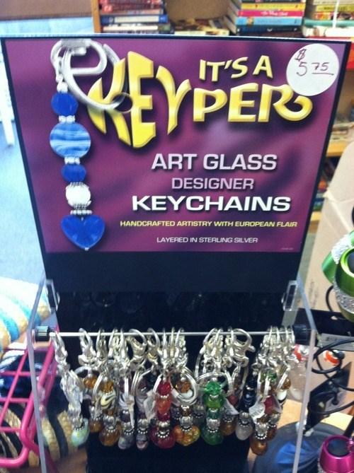 keychains,puns