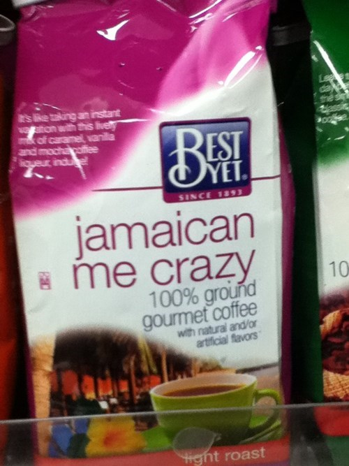 puns,coffee,product names,funny
