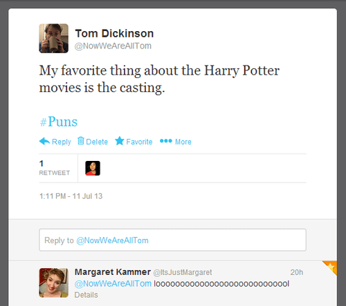 twitter,Harry Potter,puns,funny