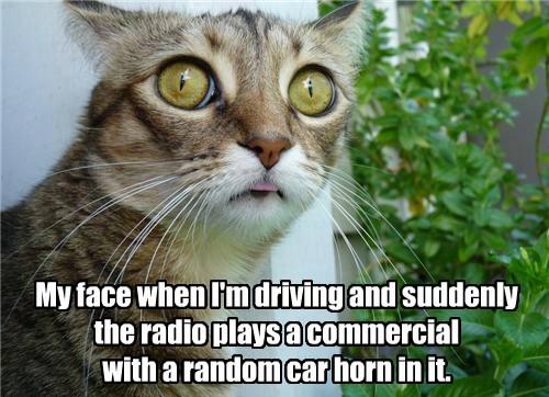 radio Ad impact car horn funny - 7655006720
