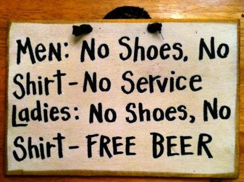 bar,sign,men,fair,women