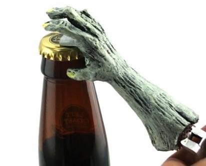 beer bottle opener zombie funny - 7655214848