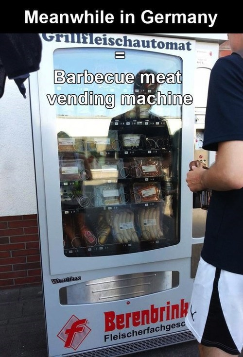 vending machines,Germany