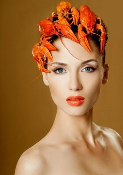hair wtf crown lobsters funny - 7655251968