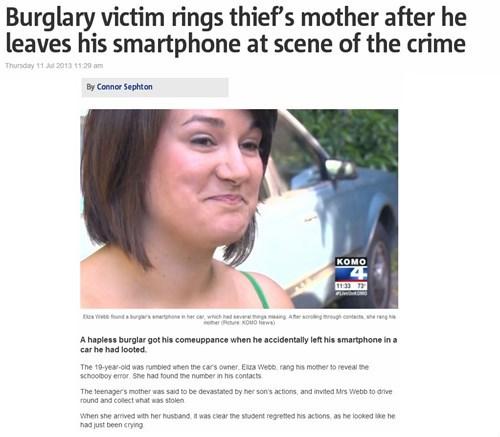 news criminally dumb criminals funny - 7655330048