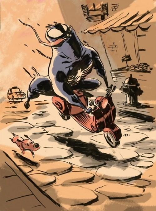 art Fan Art Spider-Man Venom - 7655709440
