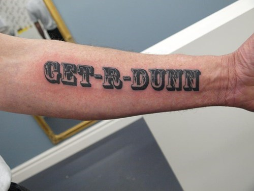 tattoos funny git r done - 7655984896
