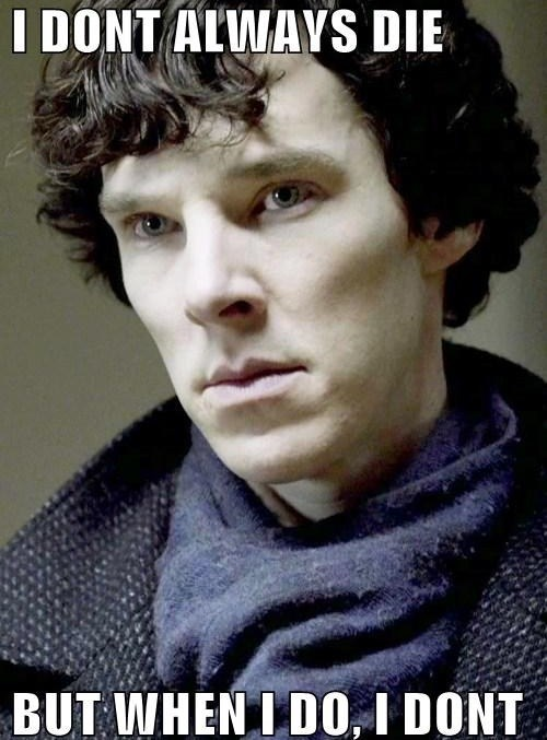 the most interesting man in the world Sherlock bbc - 7655996416
