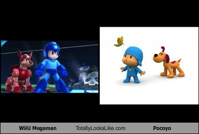 WiiU Megaman Totally Looks Like Pocoyo