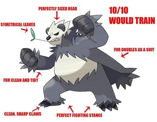 gen VI Pokémon Pangoro - 7656503040