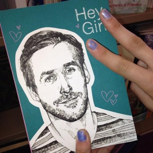horcrux Ryan Gosling fan diary - 7656592128