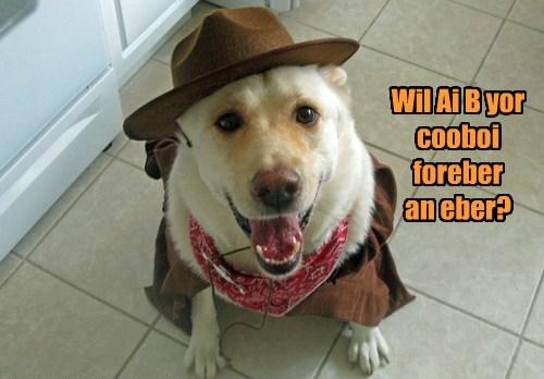 cute,cowboy,partner