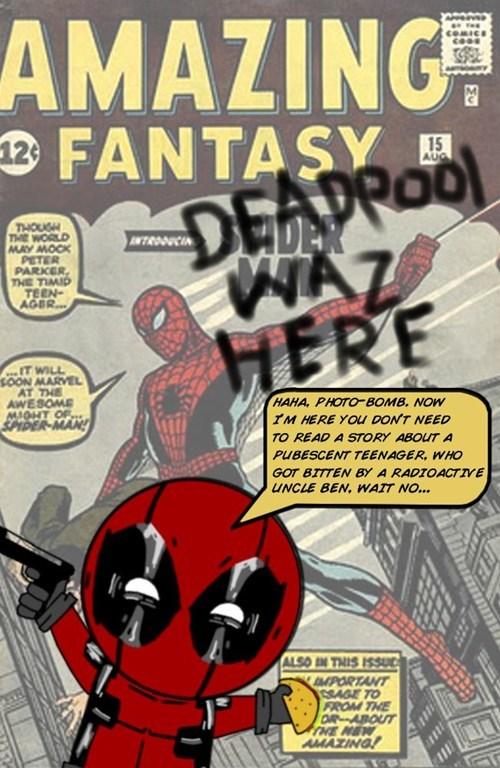 deadpool comics Spider-Man - 7658084352