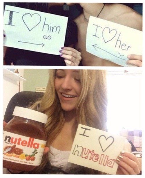 forever alone nutella love funny dating - 7658407936