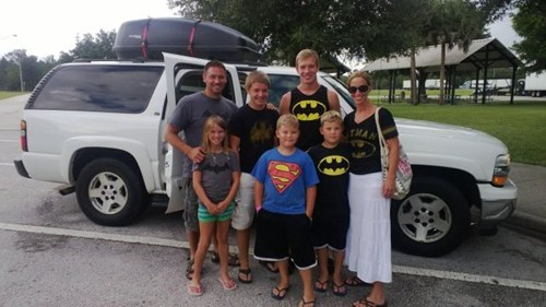 family photos,batman,funny,superman