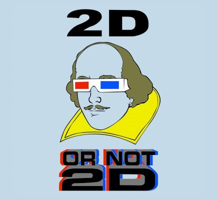 3-d glasses puns shakespeare funny - 7659700224