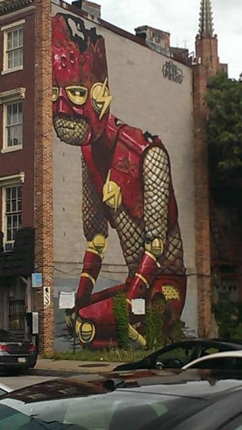 art IRL graffiti flash - 7659742464
