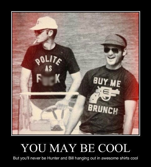 Hunter S Thompson,t shirts,funny,bill murry