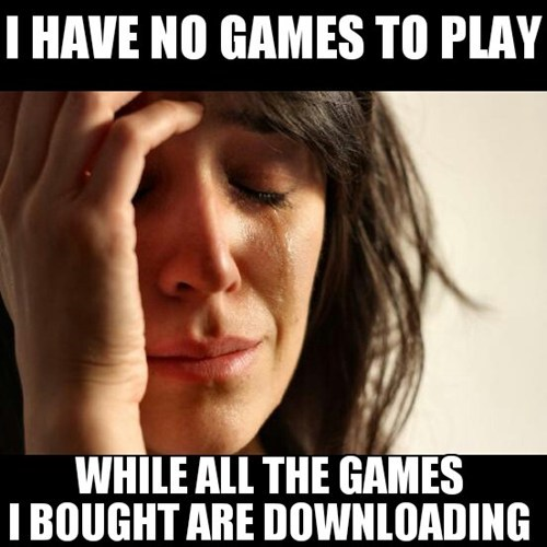 steam steam sales First World Problems
