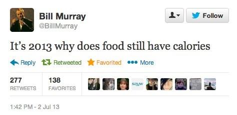 bill murray calories science 2013 failbook - 7663866112