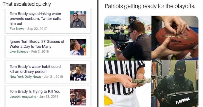 Tom Brady cry baby memes