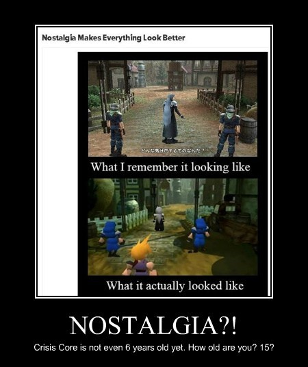 notstalgia video games funny Final fantasy XIV - 7664178176