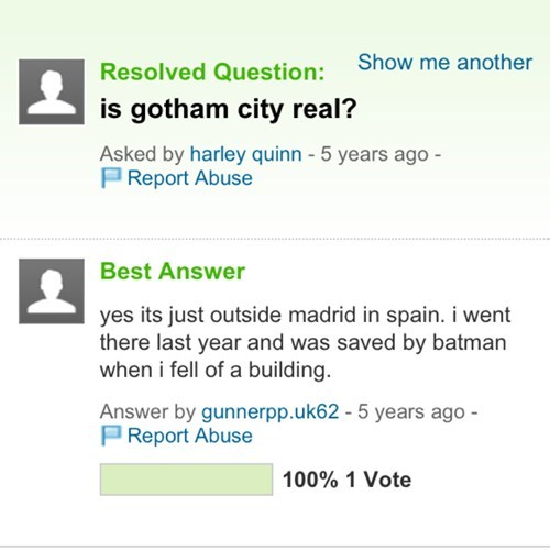 yes, gothem is right next to arkham and metroplice city