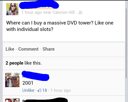 2001 dvds dvd tower