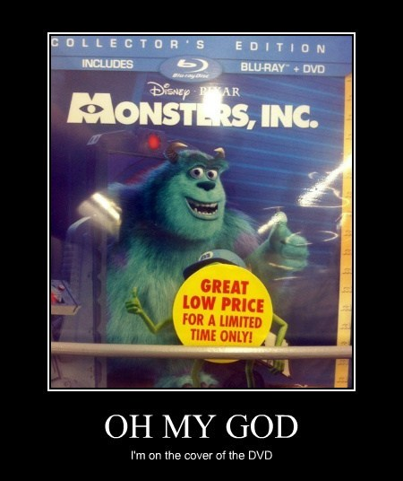 sticker Movie monsters inc funny
