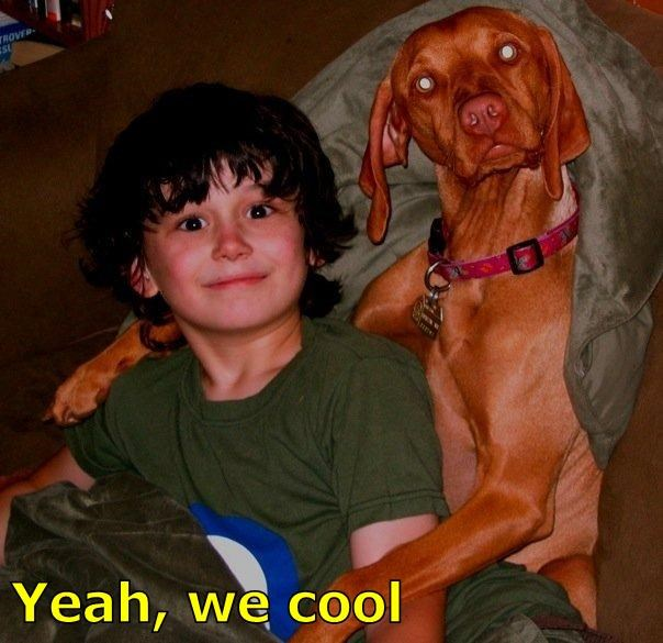 Yeah, we cool