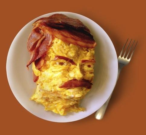 breakfast ron swanson Parks & Rec - 7666969344
