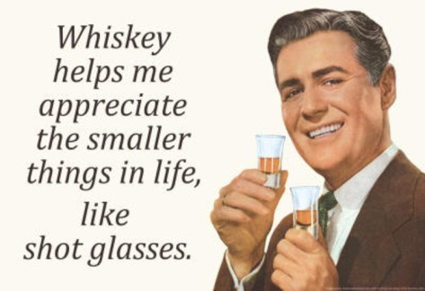 shot glasses whiskey quote funny