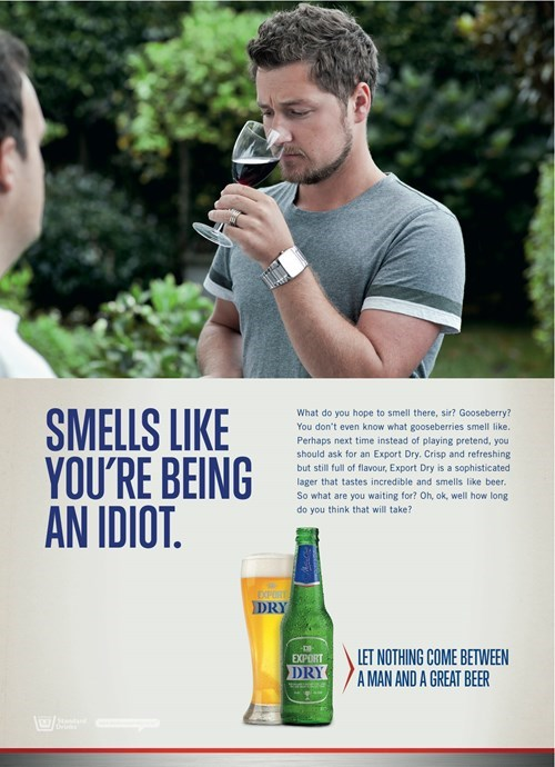 beer wine ads funny after 12 g rated