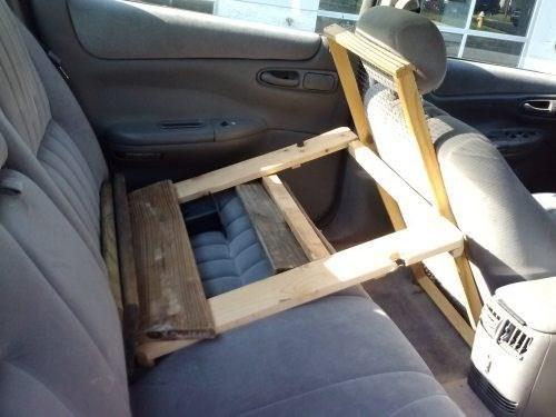 car seats,2x4s,funny