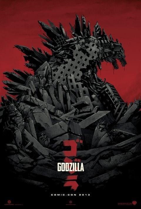 godzilla movies posters sdcc 2013 - 7667533824