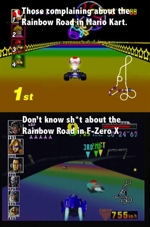 Mario Kart,f-zero,nintendo