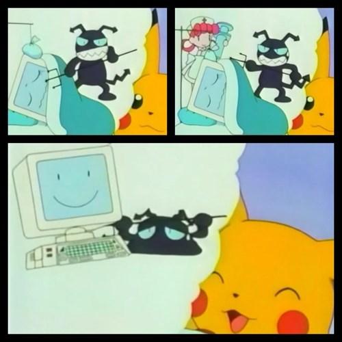 computers anime pikachu - 7667721216