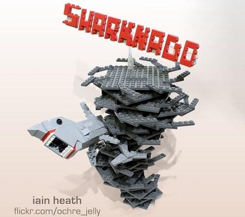 sharknado,lego,nerdgasm,funny