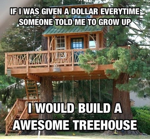 treehouses,childhood