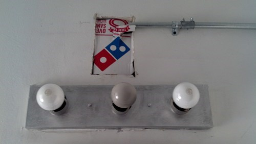 dominos pizza hole in the wall funny - 7667830016