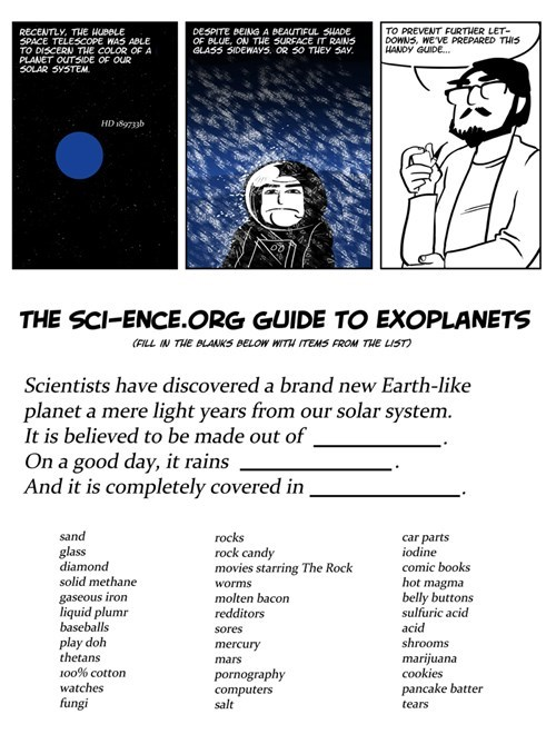 glass science funny planet - 7667955456