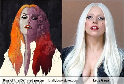 kiss of the damned,totally looks like,lady gaga,funny