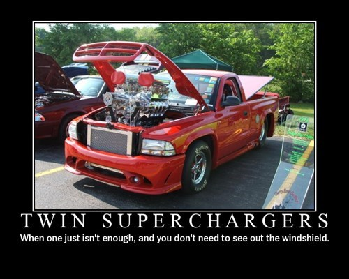 superchargers cars truck idiots funny - 7668131072