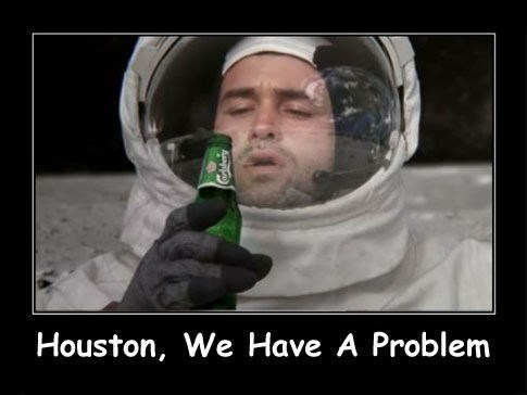 beer unfortunate astronaut funny - 7668171776