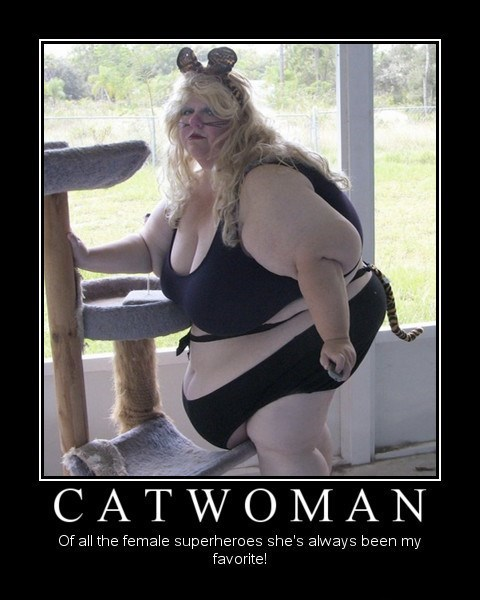 seems different,catwoman,funny