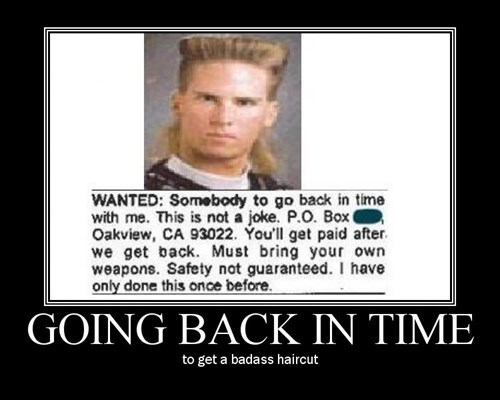 wtf hair cut time travel funny - 7668234240