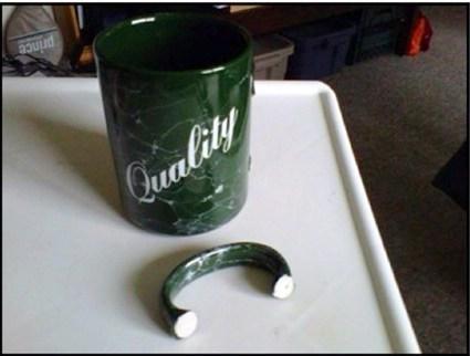 broken irony funny mug - 7668376576