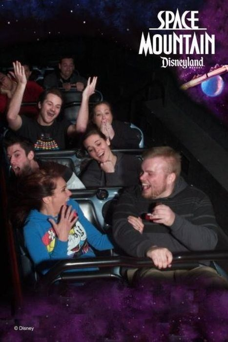 Space Mountain proposal funny - 7668394496