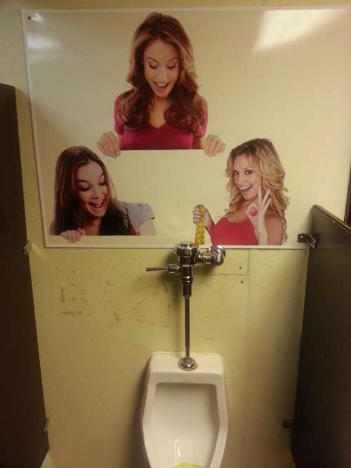 dude parts urinal bathroom funny